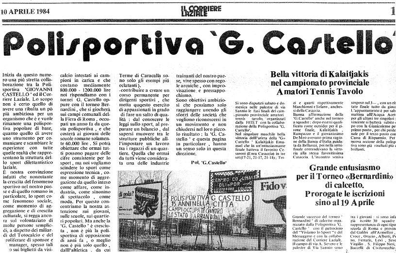 Polisportiva G.Castello