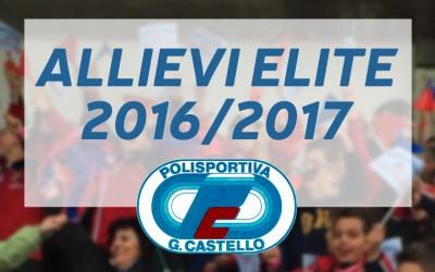 La G.Castello conquista gli Allievi Elite 2016/17