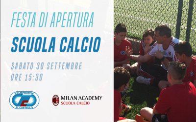 Apertura Scuola Calcio 2017/18