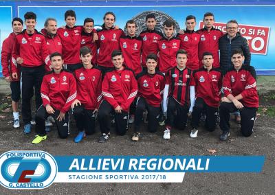 Allievi Regionali 2001 G.Castello Calcio