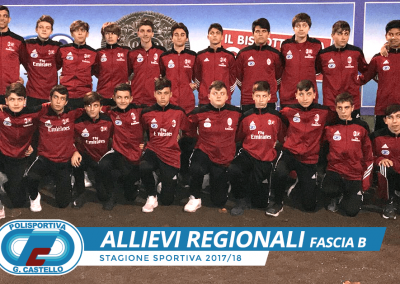 Allievi Regionali G.Castello Calcio Fascia B