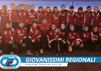 Giovanissimi Regionali G.Castello calcio