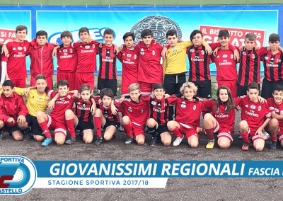 Giovanissimi Regionali fascia B G.Castello Calcio
