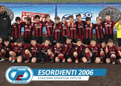 Esoridienti 2006 G.Castello Calcio