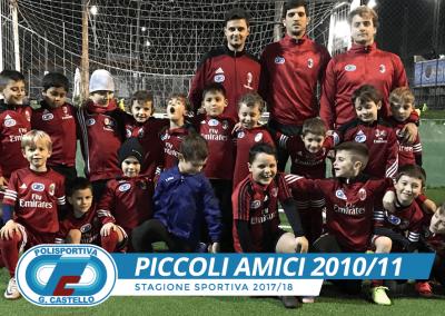 Piccoli Amici G.Castello Calcio AC Milan