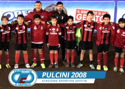 Pulcini 2008 G.Castello Calcio AC Milan