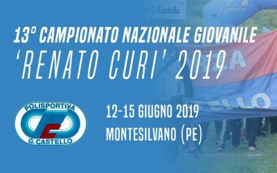 13° Campionato Nazionale Giovanile 'Renato Curi'