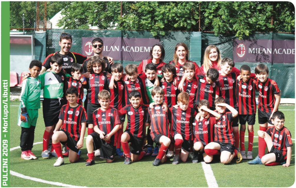 G.Castello calcio affiliata Milan Academy