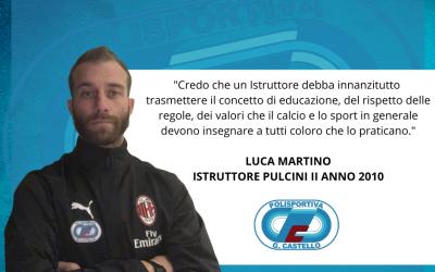 Scuola Calcio. Le parole di Mister Luca Martino