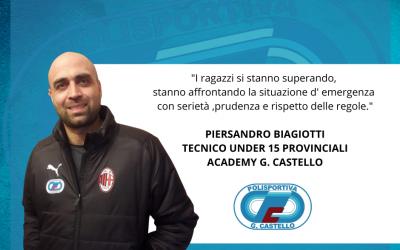 Intervista a Mister Piersandro Biagiotti